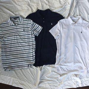 3 Shirt Bundle Polo Ralph Lauren Performance Golf